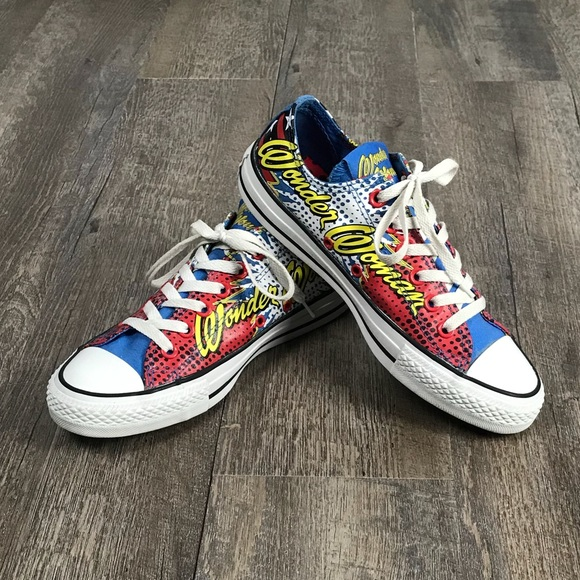 90b145fb0fff Converse Shoes - 💥Converse All Star DC Comics Wonder Woman sneaker